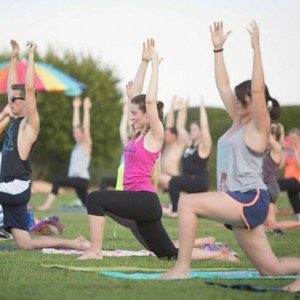 King of Pops Free Yoga in the Park