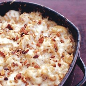 Ferran Adria Cheese 2/05 Cauliflower Gratin with Manchego and Almond Sauce